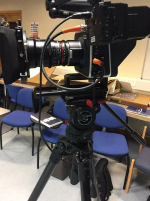 Black Magic Camera Used in Filming