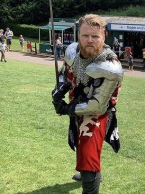 2019 Richard Neville 16th Earl of Warwick at Warwick Castle · By: Laura Taylor