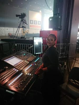 2019 FOH Audio Engineer- DiGiCo SD10 · By: Adrienne Ford-Wesley