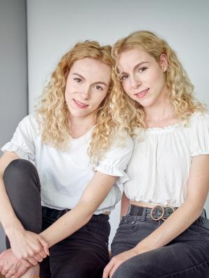 2019 Robyn Faye and Charly Faye (Twins) · By: Roy James Shakespeare