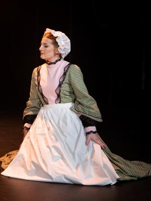 2019 On stage as Mrs Fisher in THE DICKENS GIRLS, British Youth Music Theatre (BYMT) · By: BYMT