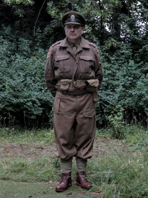 2018 WW2 British Officer · By: David Forde