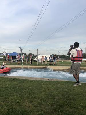Filming British Open 2019 for British Rafting