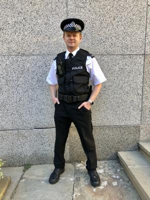 2019 Police Uniform · By: Tania Naiden