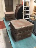 Handmade crates · By: Alice Loizel