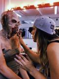 2019 behind the scenes creating a zombie with speical effects makeup · By: Faith Stanek