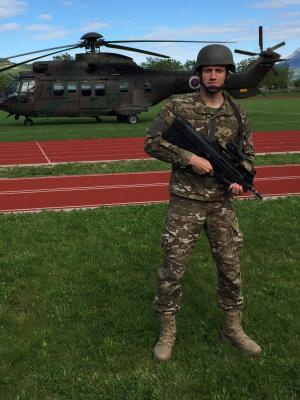 2019 Slovenian armed Forces - 3.5 months, full-time military training - earned soldier rank · By: Aleš Stubelj