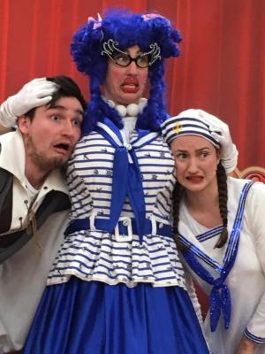 2019 As the Dame (Sarah The Cook) in Dick Whittington · By: Darren Johnson