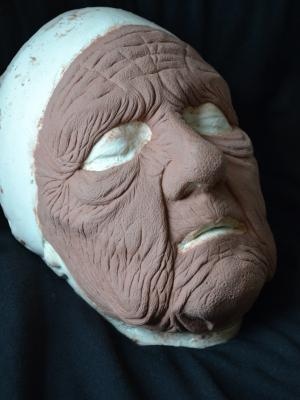 2019 Female to Male Old Age Sculpt · By: Molly Dickson