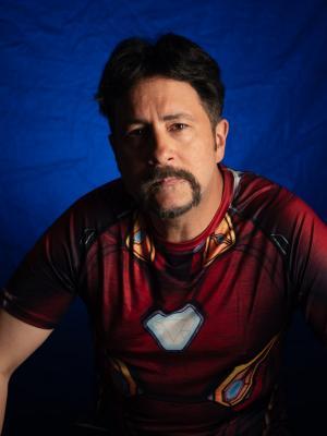 Doug MacDougall, Iron Man · By: Rita Zietsma
