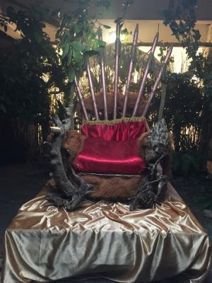 Jungle Throne for DJ Neptune music video