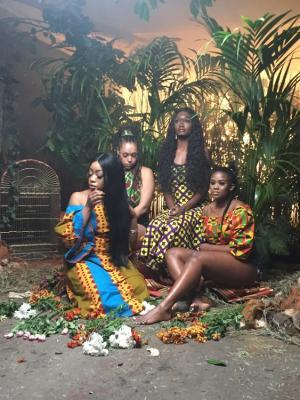 Jungle Set for DJ Neptune music video