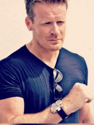 Marco Robinson wrist watch shoot