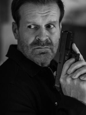 "Playing MI6 agent ""BURNS"" in the movie ""Legacy of Lies"""