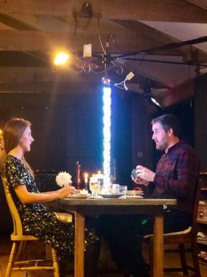 2019 As 'Romantic Man' in Q Cards Kickstarter Promo · By: Jennifer Short
