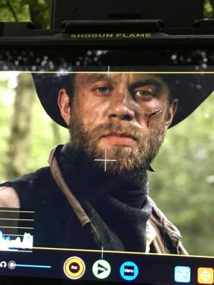 2019 A shot of myself on the monitor on the set of 'Wild' · By: Sean Wilcock
