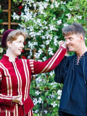 2019 Guildenstern, Hamlet, Cambridge Shakespeare Festival · By: Mike Harris