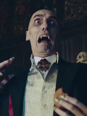 2019 Vampire in Asda Halloween commercial · By: Asda