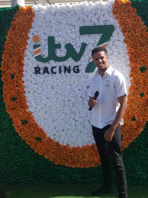 2019 Presenting at the races for Qipco and itv racing · By: Photographer