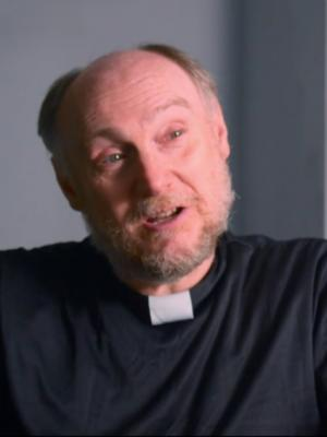 Bored Vicar in 'OurBob' video