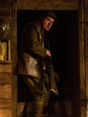 2018 As Trotter, Journey's End, Leatherhead Theatre · By: Mark Turner
