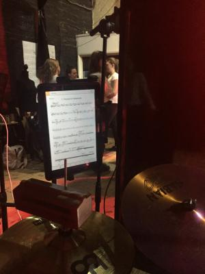 """2019 Behind the Scenes - Drumming (""""Half a Sixpence"""" Musical) · By: Charles Harrison"""