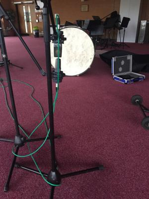 2018 Drum Recording · By: Charles Harrison