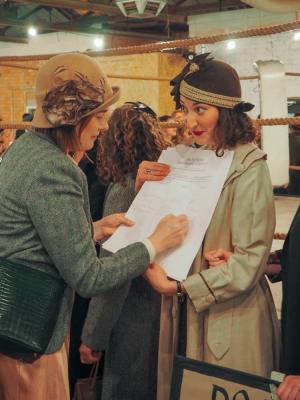 2019 As Lady Beatrice Winthrope in 'The Legitimate Peaky Blinders Festival', Dank Parish Theatre Company, 2019. · By: Alexa Jones