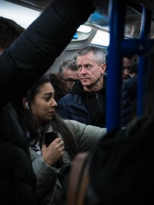 2018 Congestion on the tube train · By: Ethan Parker
