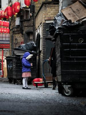 2019 The mysterious girl located in the china street backstreet · By: Ethan Parker