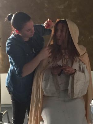 2017 Theresa Cole as a nun