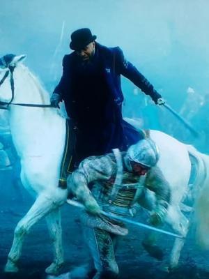 2018 Horseback sword fighting on AMC show, Into the Badlands · By: Sofian Francis