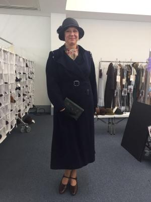 2017 Period costume, on set, Mary Poppins Returns · By: On set photographer