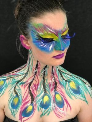 2019 Body Painting · By: Mona Turnbull