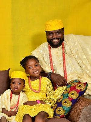 2019 Family Picture · By: Akin Rotimi Studios