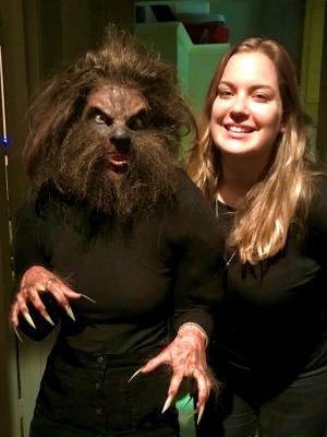 2019 Werewolf Prosthetics · By: Emma Malone