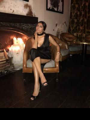 Thinking near the fire place