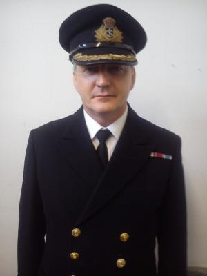 2019 Royal Navy Captain · By: John Gibson
