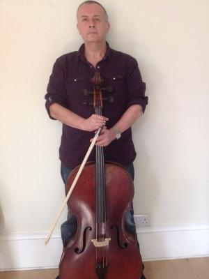Dave with cello