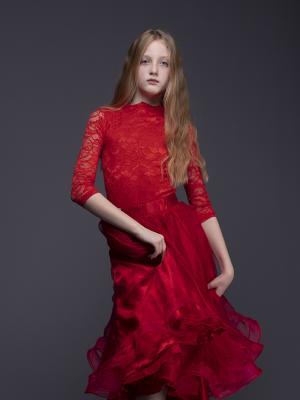 2019 Red Dress · By: Urszula Rakoczy