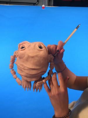 Puppet sculpting