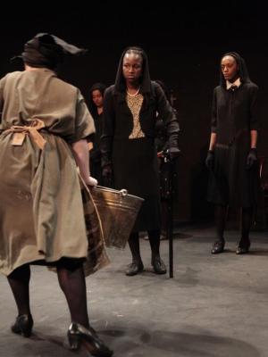 Tanesha Martin in 'The House Of Bernarda Alba' at The Embassy Theatre