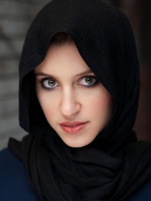 2019 Headshot with headscarf · By: Charlie Sambrook