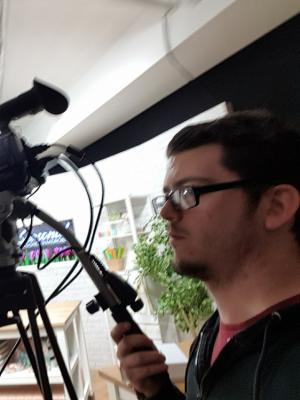 Camera Operator at Sewing Quarter TV Channel