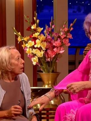 2020 Mabel McWhirter - Dame Edna's  assistant · By: Studio 1 for BBC