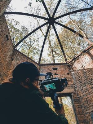 2019 Me shooting on Black Magic 6K · By: Laura Whitehead