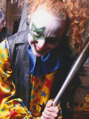 2017 'Smasher The Clown' Tulley's Farm Shocktoberfest · By: Evelyn Salter