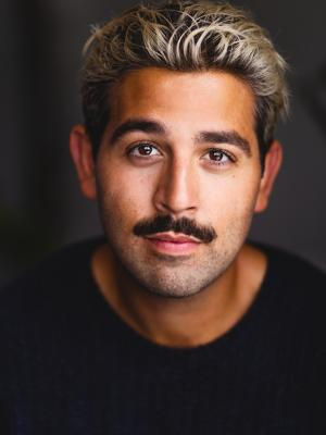 2020 Blonde with Moustache · By: Andrew Johnson