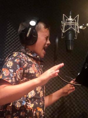 Recording studio session 2019
