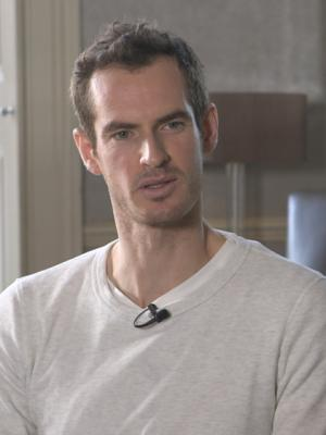 Behind the scenes with Andy Murray 2